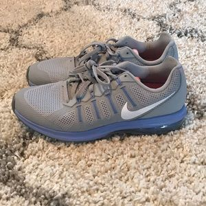 Nike Grey and Blue Women's shoes